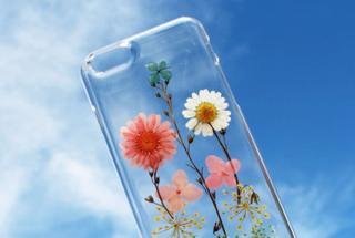 Аксессуары для телефонов: Красивенные силиконовые чехлы с настоящими цветами