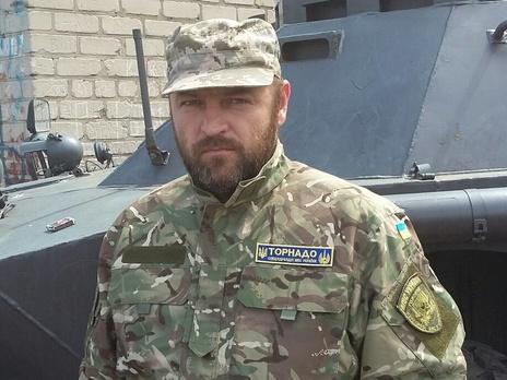 Задержан замкомбата расформированного батальона «Торнадо» Николай Цукур