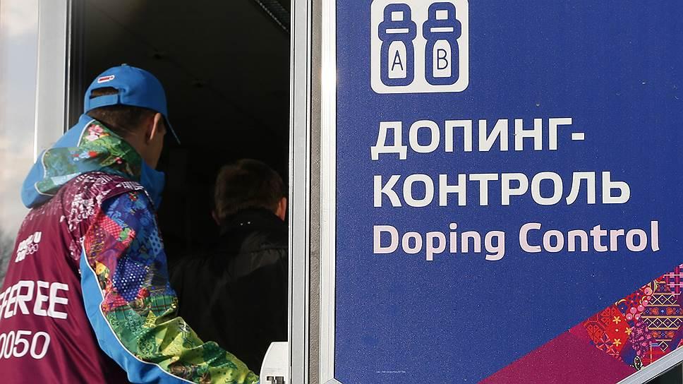 Минспорта предлагает подвергать наказанию  задопинг спортсменов
