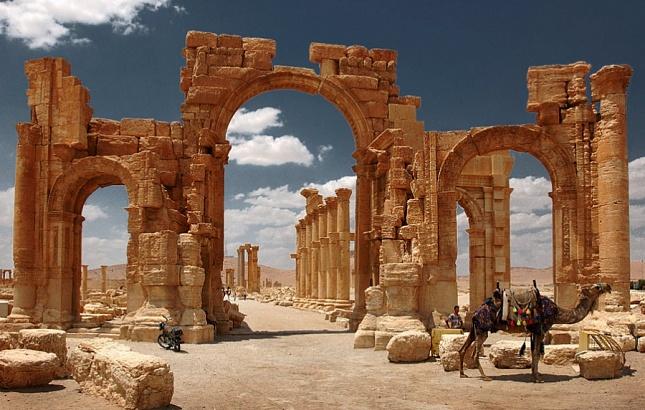 Пальмира навсе 100% освобождена отбоевиков ИГИЛ