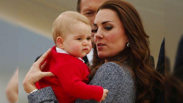 Принц Джордж пойдет учиться вшколу своего отца в2016 году