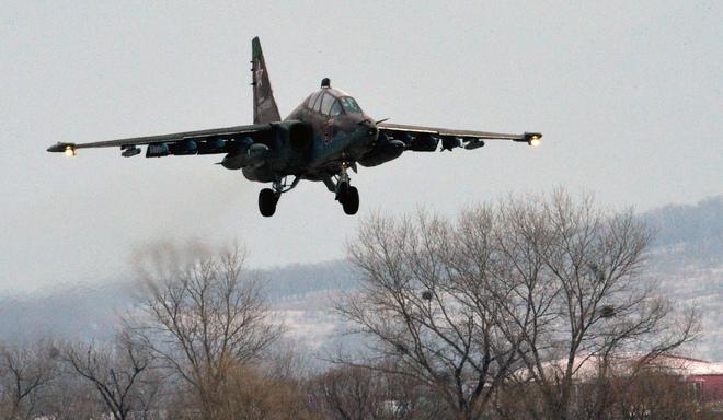 Минобороны подтвердило крушение вПриморье Су-25