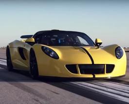 ТопЖыр: суперкар Hennessey Venom GT установил рекорд скорости