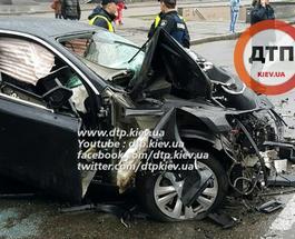 ДТП в Киеве: BMW