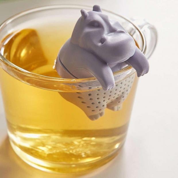 Бегемотик-ситечко для чая