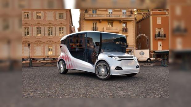 В Монако показали первый украинский прототип электромобиля Synchronous