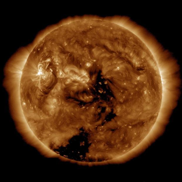 последние снимки погоды из космоса