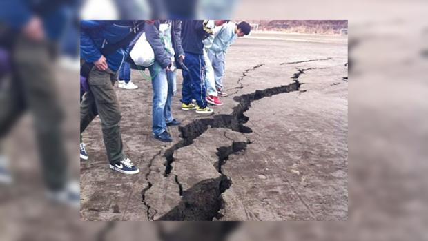 Высокоскоростной поезд сошел срельсов вЯпонии после землетрясения