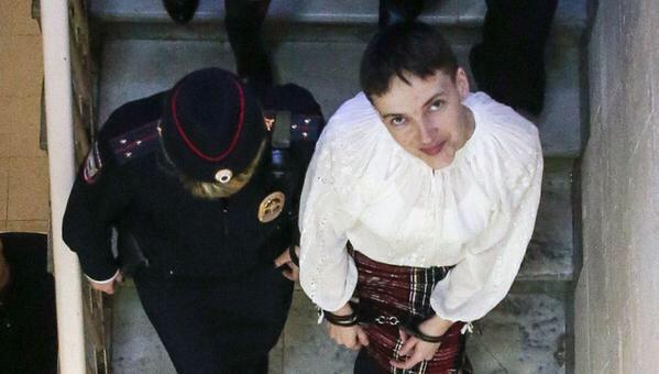 Савченко продолжит голодовку довынесения вердикта Ерофееву иАлександрову