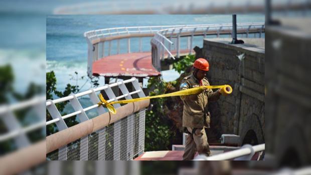 ВРио-де-Жанейро рухнула построенная кОлимпиаде велодорожка, есть жертвы