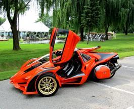 Клевые трехколесные автомобили T-Rex three