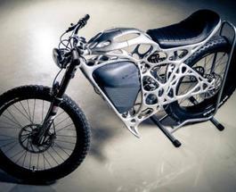 Супер легкий мотоцикл напечатали на 3D принтере: он даже ездит