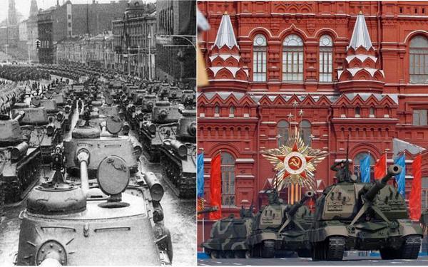 В российской столице началась генеральная репетиция парада коДню Победы
