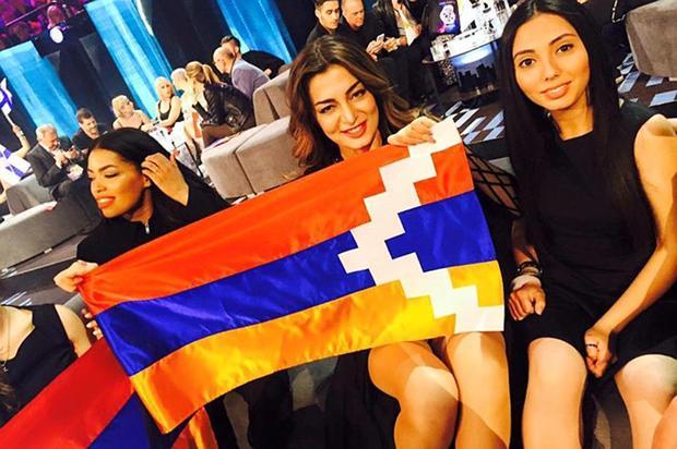 Участницу «Евровидения» отАрмении могут исключить зафлаг Карабаха