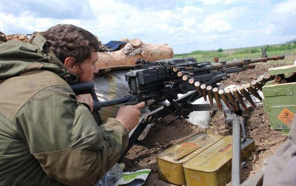 Вблизи Новотроицкого боевики впервый раз запоследнее время стреляли из«Градов»