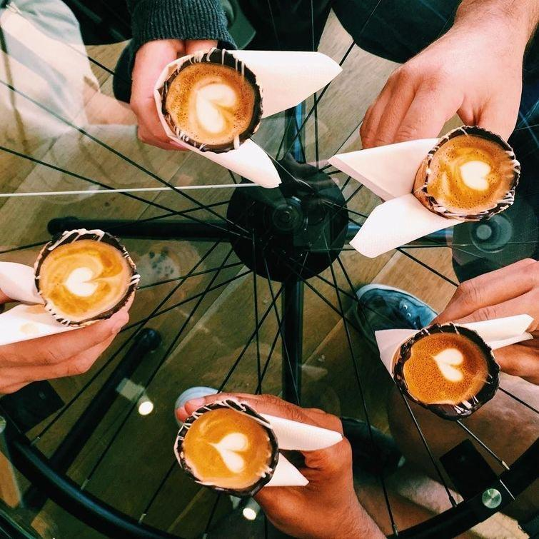 становится все оригинальная подача кофе с собой изготовлении спортивного термобелья