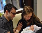Хиллари Клинтон показала миру новорожденного внука