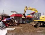 Киевская мэрия нанесла последний удар по МАФам: протестующие торговцы заблокировали город