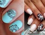 Модный маникюр 2016: теперь индийские узоры мехенди на ваших ногтях