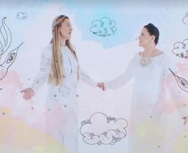 Нина Матвиенко и Юлиана Прадо в честь Дня защиты детей перепели знаменитую колыбельную