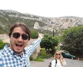 Сергей Притула отметил юбилей во Франции, куда отправился с новой супругой