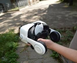 Знай наших: радиотехник из Запорожья создал шлем виртуальной реальности