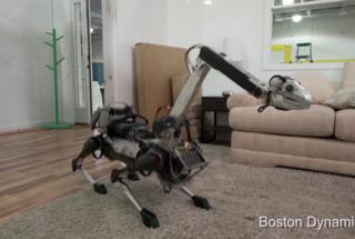 Робототехники презентовали милого робота-собаку