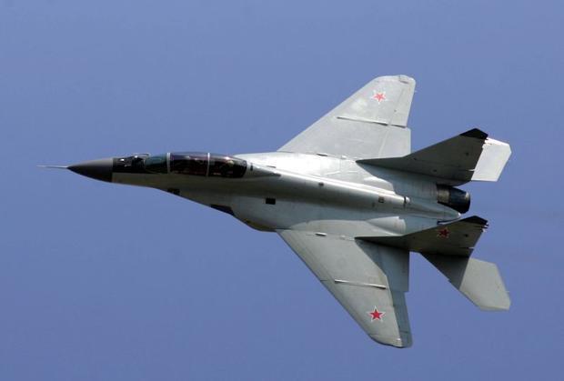 ВМосковской области упал МИГ, умер пилот
