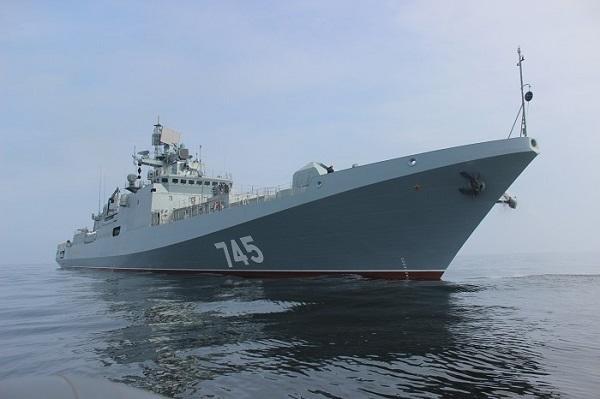 Оккупанты вКрыму едва неутопили собственный военный фрегат