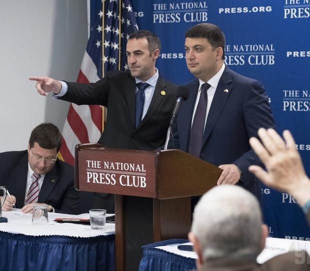 Гройсман: «Россия, коррупция, популизм— три основных врага Украины»