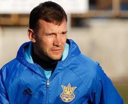 Андрей Шевченко возглавил сборную Украины по футболу