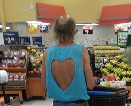 Смешные фотки из серии: Посетители американских супермаркетов «Walmart» остановитесь