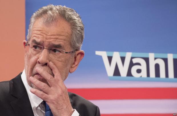 КСАвстрии отменил результаты президентских выборов