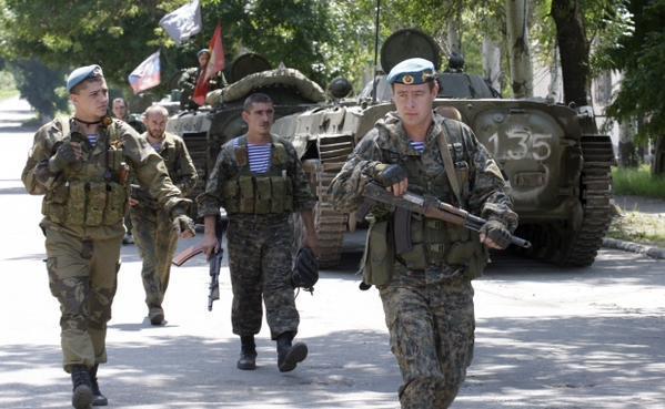 Напротяжении суток взоне АТО ранены 6 украинских военных,