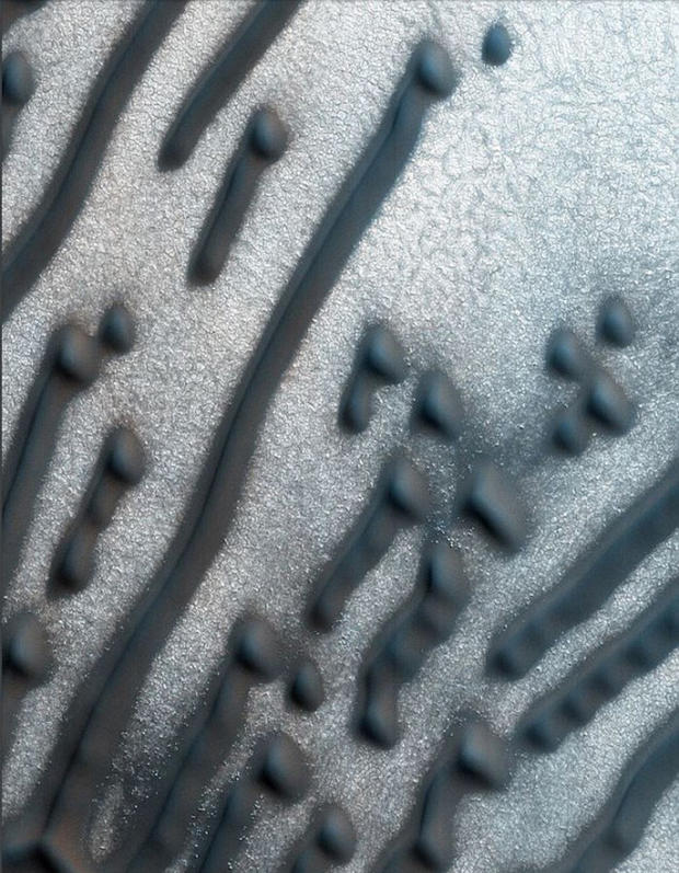 Намарсианских дюнах отыскали надпись: «NEE NED ZB6 TNN DEIBEDH»