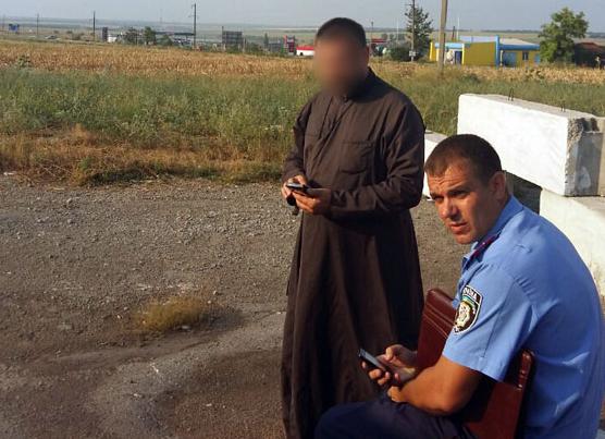 ВДонбассе схвачен священник, который пытался провезти гранатометы игранаты