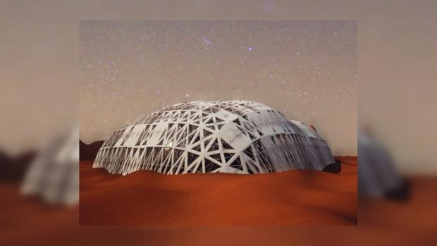 Вамериканской пустыне Мохаве протестируют проекты марсианских городов