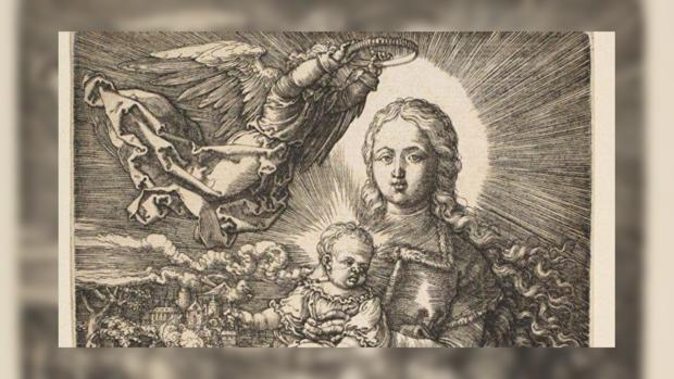 На барахолке во Франции нашли гравюру 500-летней давности