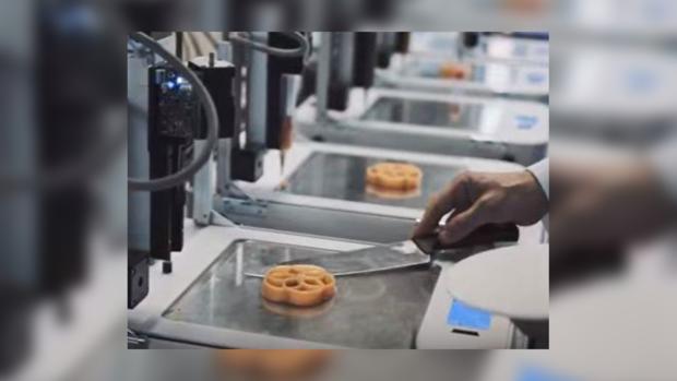 Встолице Англии открыли ресторан, где все напечатано на3D-принтере