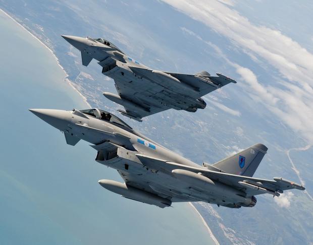 Истребители НАТО будут тренироваться внебе над Эстонией