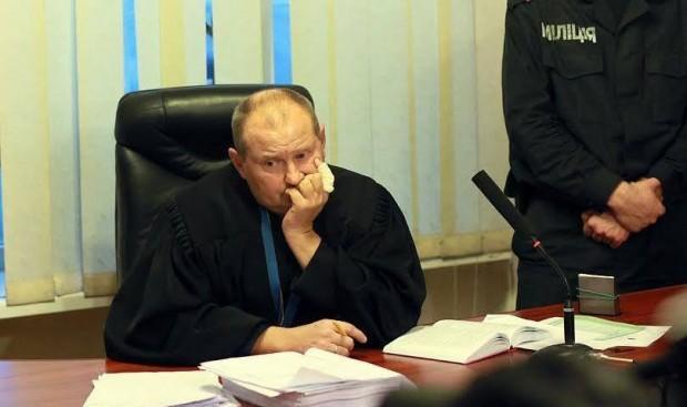 Подозреваемый вовзяточничестве судья Чаус ушел вотпуск