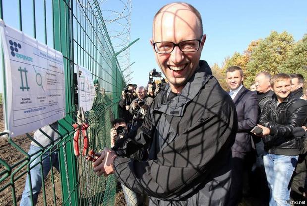 «Неудобно получилось»— понепостроенной «Стене» Яценюка возбудили уголовн ...