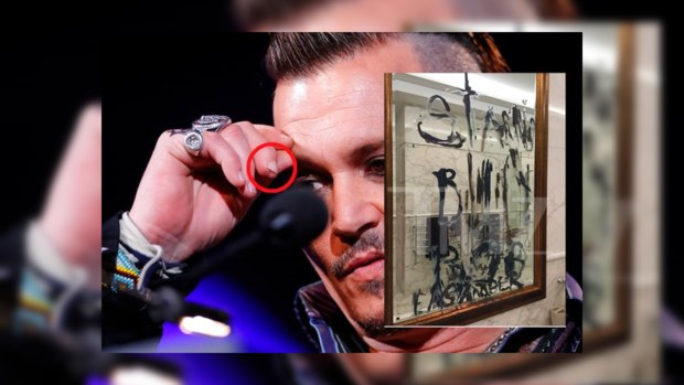 Джонни Депп отрезал себе палец из-за ревности (фото 18+)