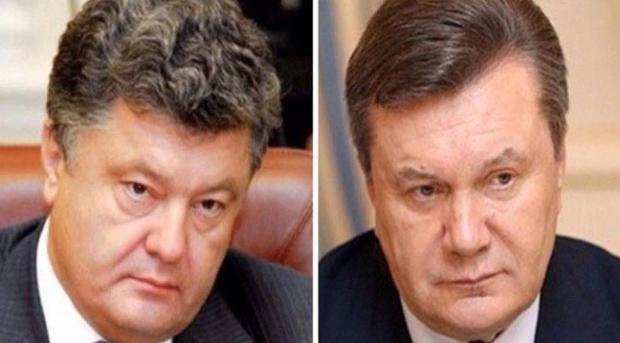 Янукович требует очную ставку сПорошенко
