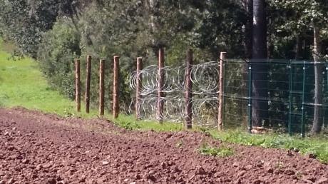 РФ строит забор награнице сПольшей— Польские СМИ