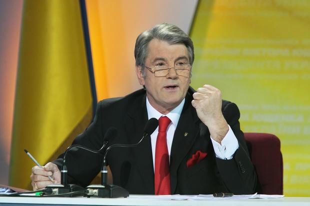 Ющенко объявил, что онбыКрым несдал