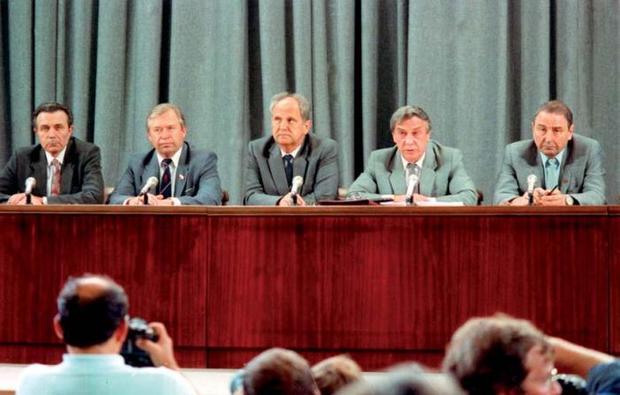 25 лет назад вСССР произошел «августовский путч»