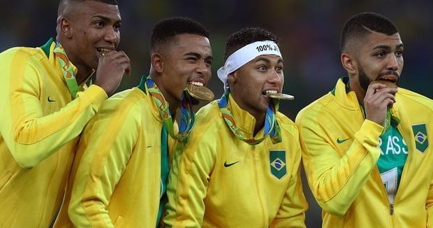 Неймар спенальти принёс Бразилии 1-ый вистории футбольный олимпийский титул