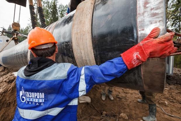 Медведев: Строительство «Северного потока-2» идет пографику
