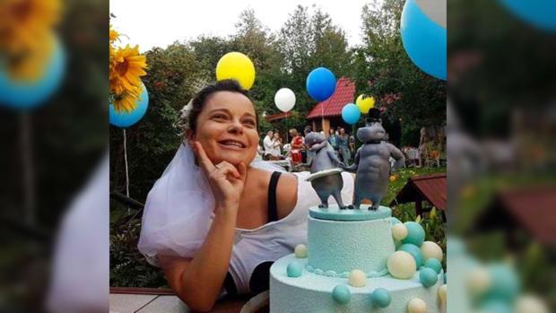 Наташа Королева вновь надела фату нагодовщину свадьбы